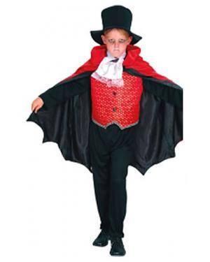 Fato Esqueleto Vampiro Demônio Menino (Três em um) Disfarces A Casa do Carnaval.pt