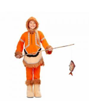 Fato Esquimó Menina para Carnaval