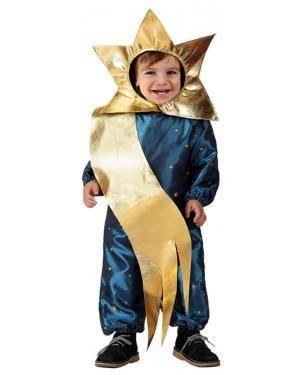 Fato Estrela Dourada Bebé Disfarces A Casa do Carnaval.pt