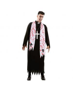 Fato Exorcista Tamanho M/L para Carnaval