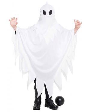 Fato Fantasma para Carnaval ou Halloween 4323 - A Casa do Carnaval.pt