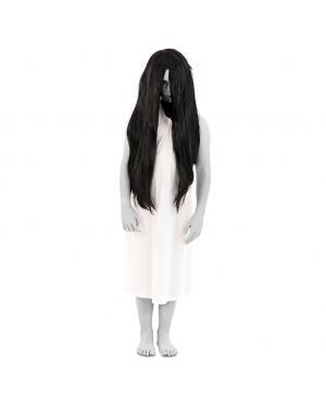 Fato Fantasma Assustadora Menina para Carnaval