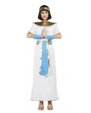 Fato Faraona Egipcia Tamanho S para Carnaval