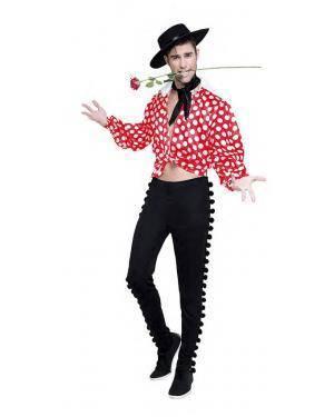 Fato Flamenco Bolinhas Tamanho M/L para Carnaval