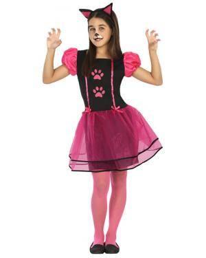 Fato Gatinha Vaidosa Menina de 3-4 anos Disfarces A Casa do Carnaval.pt