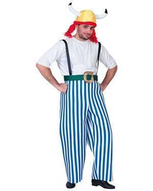 Fato Gaulês-Obelix Adulto Disfarces A Casa do Carnaval.pt