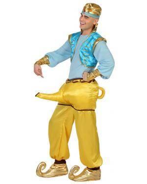 Fato Génio da Lampada Aladino Adulto Disfarces A Casa do Carnaval.pt