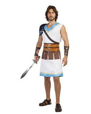 Fato Gladiador Grego Tamanho S para Carnaval