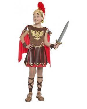 Fato Gladiador Romano 3-4 Anos para Carnaval