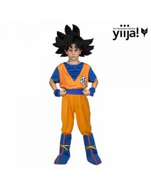 Fato Goku Criança para Carnaval