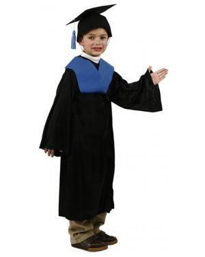 Fato Graduado Licenciado Azul Menino Disfarces A Casa do Carnaval.pt