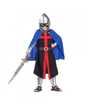 Fato Guerreiro de Máscarado Infantil para Carnaval
