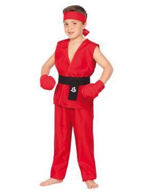 Fato Guerreiro Kung Fu Menino Disfarces A Casa do Carnaval.pt