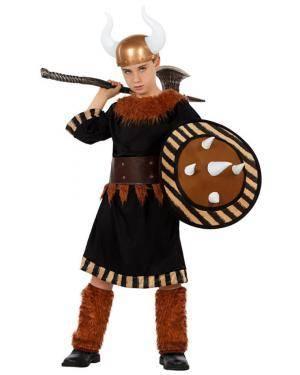 Fato Guerreiro Viking Menino Disfarces A Casa do Carnaval.pt
