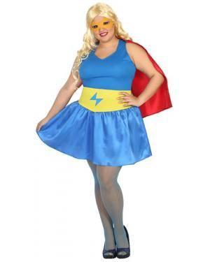 Fato Herói Comic Mulher Adulto XL Disfarces A Casa do Carnaval.pt