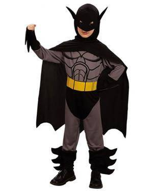 Fato Herói Morcego Menino Disfarces A Casa do Carnaval.pt