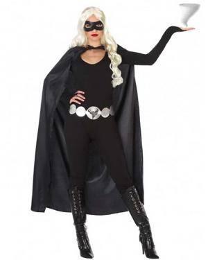 Fato Heroína Mascarada Adulto para Carnaval
