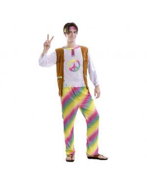 Fato Hippie Arco Iris  Tamanho M/L para Carnaval