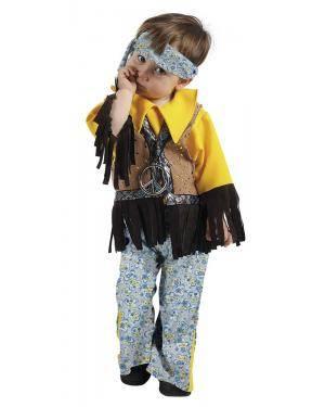 Fato de Hippie Bebé Menino para Carnaval | A Casa do Carnaval.pt