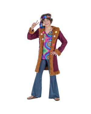 Fato Hippie de Luxo Homem para Carnaval