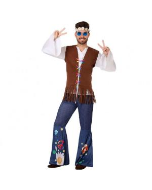 Fato Hippie Homem para Carnaval