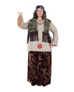 Fato de Hippie Mulher Adulto XL para Carnaval | A Casa do Carnaval.pt
