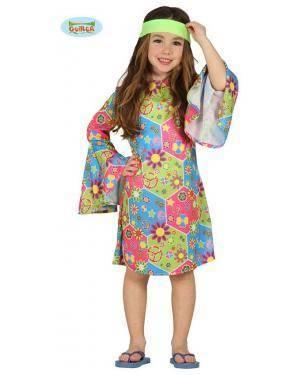 Fato Hippie Chica Infantil Disfarces A Casa do Carnaval.pt