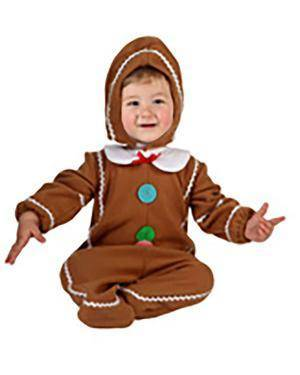 Fato Homem-Biscoito Bebé Disfarces A Casa do Carnaval.pt