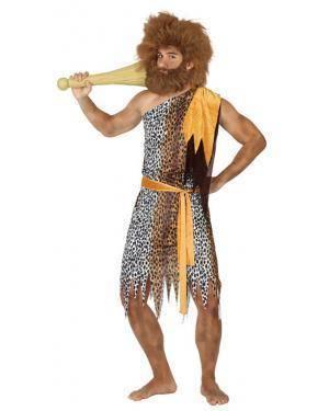 Fato Homem das Cavernas Adulto M/L Disfarces A Casa do Carnaval.pt