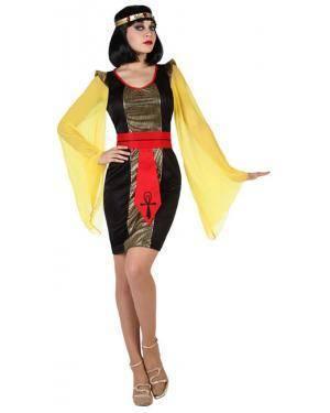 Fato Imperatriz Egipcia Adulto Disfarces A Casa do Carnaval.pt