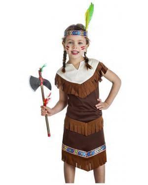 Fato India 5-6 Anos Disfarces A Casa do Carnaval.pt