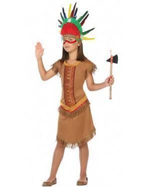 Fato Índia Apache Infantil para Carnaval