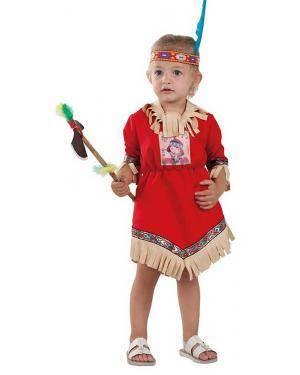 Fato de Índia Bebé para Carnaval | A Casa do Carnaval.pt