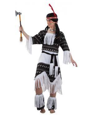 Fato de índia Cherokee Adulto para Carnaval | A Casa do Carnaval.pt