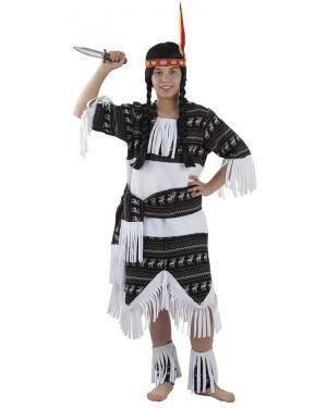 Fato de Índia Cherokee Infantil para Carnaval | A Casa do Carnaval.pt