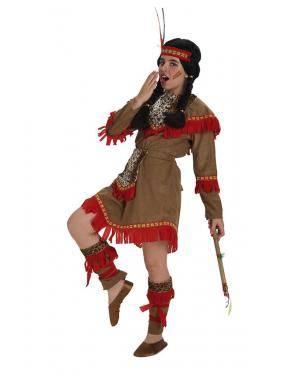 Fato India Deluxe Menina T. 5 a 7 Anos Disfarces A Casa do Carnaval.pt