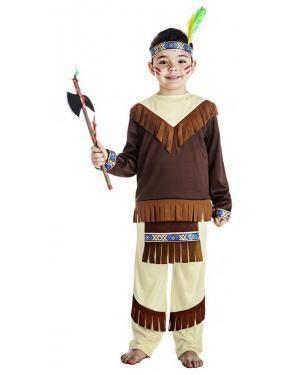 Fato Indio 3-4 Anos Disfarces A Casa do Carnaval.pt