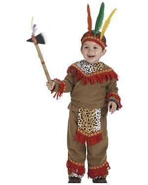 Fato Indio Lujo Bebe Disfarces A Casa do Carnaval.pt