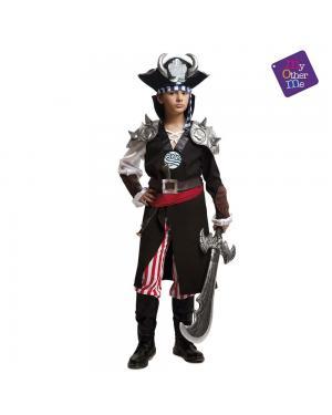 Fato Jack Devil Juvenil para Carnaval