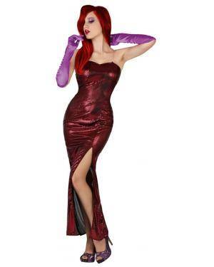 Fato Jessica Rabbit Sexy Adulto Disfarces A Casa do Carnaval.pt