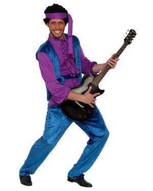 Fato Jimi Hendrix Adulto Disfarces A Casa do Carnaval.pt