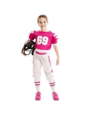 Fato Jogadora de Futebol Americano Menina para Carnaval