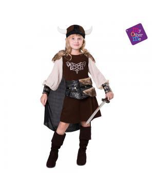 Fato Lady Viking para Carnaval