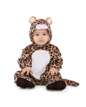 Fato Leopardo Bebé para Carnaval