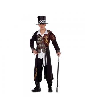 Fato Lord Steampunk para Carnaval