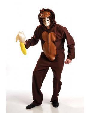 Fato Macaco Adulto T. M/L Disfarces A Casa do Carnaval.pt