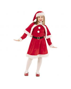 Fato Mãe Natal Menina para Carnaval