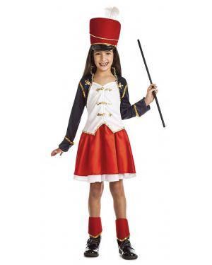 Fato Majorette 5-6 Anos Disfarces A Casa do Carnaval.pt