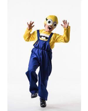 Fato Malvado Criança 5-7 Anos Disfarces A Casa do Carnaval.pt