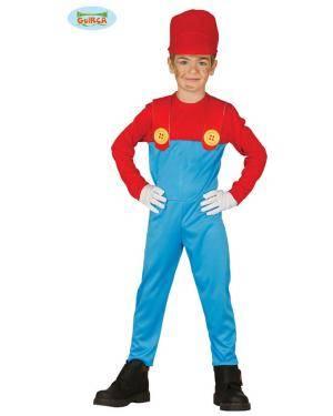 Fato maquinista de tren Mario para niño Loja de Fatos Carnaval, Disfarces, Artigos para Festas, Acessórios de Carnaval, Mascaras, Perucas 945 acasadocarnaval.pt